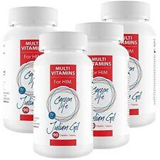 Carson Life Multivitamins Tablets Dietary Supplement- Mega 4 pack(360 tablets)