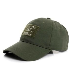 New Glock Shooting Hunting Hiking Baseball Cap Fashion Cotton Outdoor Hats GREEN
