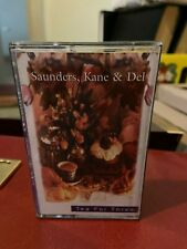 Saunders, Kane & Del Tea for Three Cassette tape Australian female country rock