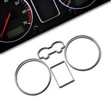 TACHORINGE SET für VW GOLF 4 + BORA TACHORINGE CHROM RINGE TACHOMETER von JOM