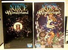 The Complete Alice in Wonderland #1-2 NM LOT (2009-2010) Dynamite Comics