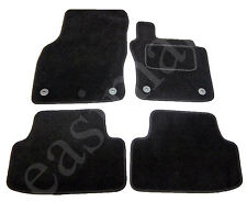 VW Golf Mk7 2013 on Tailored Carpet Car Mats Black 4pc Floor Mat Set Volkswagen