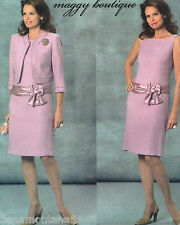 Butterick 4655*Maggy Boutique Semi Formal Sheath Dress & Jacket Pattern*6-12*FF