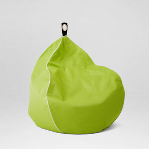 Chillizone Indoor/Outdoor Bean Bag Lime/White