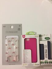 3 X iPhone 5 Case/cover Next Rainbows Pink & Grey BNIB Screen Protector