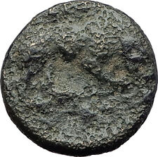 KARDIA THRACE 350BC Authentic Original Ancient Greek Coin PERSEPHONE LION i63261