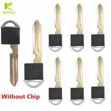 10xReplacement Remote Smart Prox Emergency Insert Key for Nisaan Infiniti NoChip
