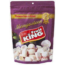 Fruit King Vacuum Freeze Dried Thai Mangosteen 50g. Free GIFT Included