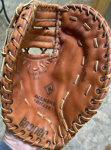"Large Cooper Diamond Deluxe 1st Baseman Glove 14"" Pkt. Ex+++ Condition"