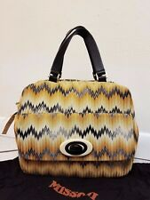 Missoni BAULETTO GRANDE IN MISSONI fabric  Bag NEW NWT