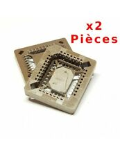 x2 Supports PLCC32 SMD IC Socket 32 Pin SMD 1887Z