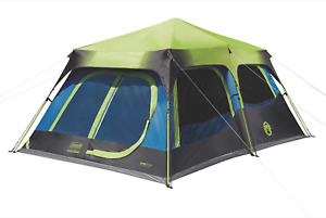 Coleman Cabin Tent With Instant Setup Cabin Tent For Camping Sets Up In 60 Sec