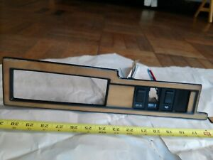 Volvo 760 OEM Wood (Genuine) inlay Dashboard Trim.