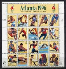 36344) USA 1996 MNH** Olympic Games 20v m/s