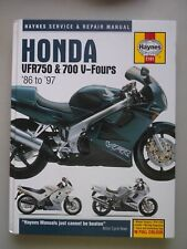 Honda VFR750 & 700 V-Fours '86 to '97 Maynes Service & Repair Manual