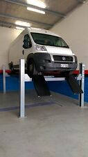 4-Post Wheel Alignment Car Hoist 5.0T with Jacking Beam by Hero Hoists Qld