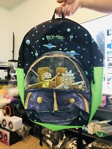 Rick and Morty Spaceship Backpack - Pre-owned