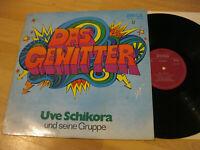 LP Uve Schikora & seine Gruppe Das Gewitter Vinyl Amiga DDR 8 55 290