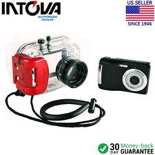 Intova IC-600 10.0 MP Digital Camera + Waterproof Housing - (Black)