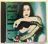 CHER It's a Man's World (1996 Warner Bros.) RARE HOLOGRAM LTD ED / EXC LN COND