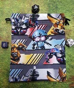 Transformers Autobot Strong dice bag, card bag, makeup bag