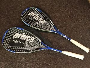 """2 Prince F3 Agile Force 3 Squash Racquet w/covers 27"""""""