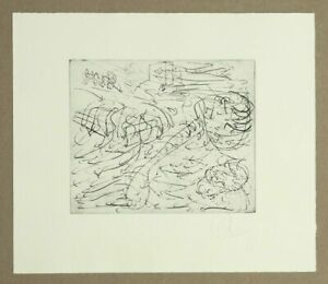 TONY CRAGG - Desert - etching -  handsigned - 1994