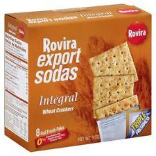Rovira Wheat Crackers (Export Sodas) - 9oz. - Puerto Rico