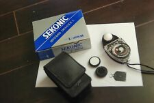 Sekonic Studio Deluxe L-398 M Light Meter - Case and Strap