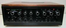 SANSUI AU-999 INTEGRATED AMPLIFIER WORKS PERFECT SERVICED FULLY RECAP WOOD BOX