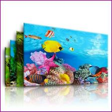 New Aquarium Landscape Sticker Poster Fish Tank 3D Background Painting Sticker