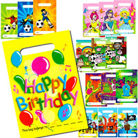 BIRTHDAY PARTY BAGS CHILDRENS BOY GIRL LOOT TOY FILLER BAGS PIRATE PRINCESS FARM