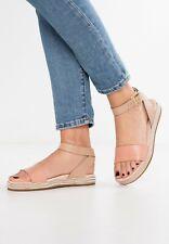 Clarks Botanic Ivy Sand Combination Women's Leather Sandals Size UK 5D