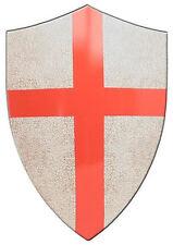 Encadrée Imprimer-médiéval croisade Saint George Croix Bouclier (photo Chevalier art)