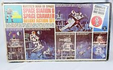 Vintage 1960's Major Matt Mason Space Station & Space Crawler Deluxe Set #6310
