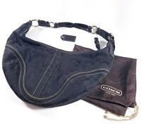 Coach Black Jacquard Signature Hobo Shoulder Bag Purse (K0668-10601)