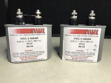Lot of New Cornell Dubilier Film Capacitors SCD205K102A3-28 2.0uF 1000 VDC 5