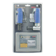 """Astro Pneumatic 1/4"""" Angle & Mini Air Die Grinder Combo Kit 1221 new"""