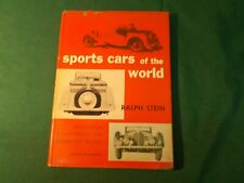 SPORTS CARS OF THE WORLD   1952 first edition automobiles  by Ralph Stein