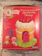 Vintage Strawberry Shortcake SS Berry House for Pvc Miniature Dolls Kenner MIB