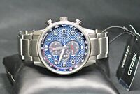 CITIZEN PRIMO CHRONOGRAPH CA0680-57L MEN'S STAINLESS STEEL WRIST WATCH