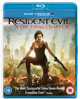 Resident Evil: The Final Chapter DVD (2017) Milla Jovovich, Anderson (DIR) cert