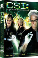 CSI: The Twelfth Season [New DVD] Boxed Set, Dolby, Subtitled, Widescreen, Ac-