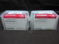 Case of 20 Axygen Scientific PCR-384-RGD-C Well PCR Plates (AD74)