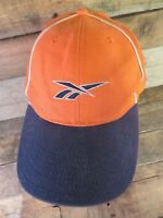 REEBOK Orange Blue White Snapback Adjustable Adult Hat Cap