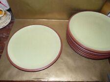 Denby Dinner Plates Green Denby, Langley & Lovatt Pottery
