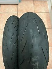 Bridgestone Battlax Hypersport S22 120/70 ZR 17 200/55 ZR 17 Pair Used Part Worn