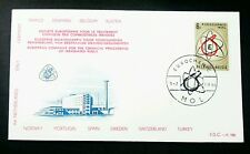 Belgium European Chemical Plant 1966 Molecular Science (FDC) *recess effect