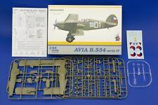 Eduard - AVIA B.534 IV SERIE REPÚBLICA CHECA 1937 Modelo Equipo de construcción