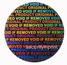 1000 Hologram Security Stickers holographic labels ORIGINAL PRODUCT  C15-1S